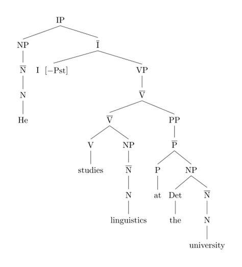 tree diagram of a sentence image gallery linguistics sentence
