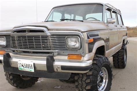 classic jeep wagoneer lifted 1982 jeep grand wagoneer limited 4x4 lifted runs like a