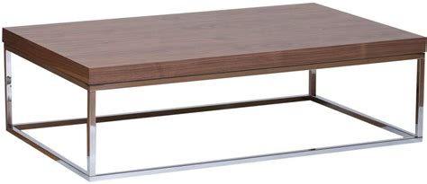 metal frame coffee table prairie rectangular coffee table walnut with metal frame