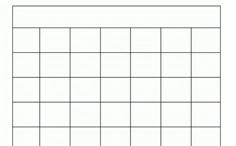 18 free blank weekly calendar template february 2017
