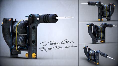 tattoo gun tutorial constructing a strikingly accurate tattoo gun in maya part 8