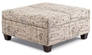 Large Square Fabric Ottoman Square Ottoman With Storage And Tray Ottoman Design