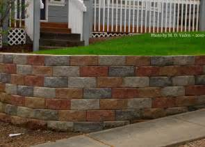 garden retaining blocks retaining wall with multi color block do you like
