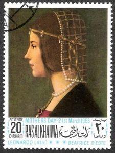 Special Leonardo Collection Expressive Faces Vol 31 st beatrice d este by leonardo da vinci 1452 1519 ras al khaimah s day