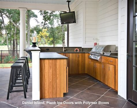Charleston Kitchen Cabinets by Outdoor Kitchens Tropical Patio Charleston By