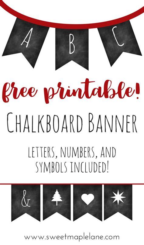 free printable chalkboard banner numbers mejores 285 im 225 genes de birthdays en pinterest
