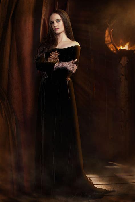 film fantasy halloween eva green as morgan in camelot tv series 2011 series