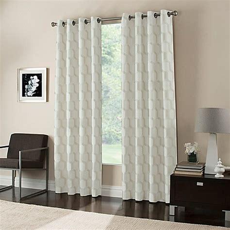 curtain grommet spacing gaudi grommet top window curtain panel bed bath beyond