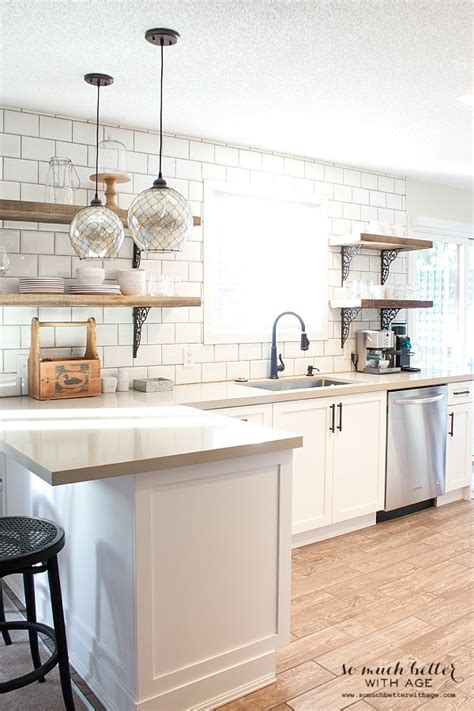 How Much Are Custom Kitchen Cabinets by Rustic Industrial Kitchen Shelves So Much Better With Age