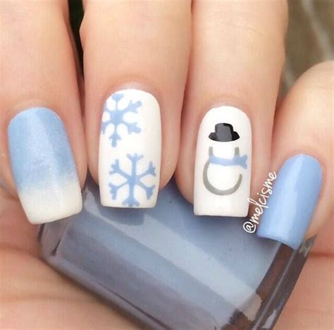 Nail Style Ideas by 50 Winter Inspired Nail Ideas Ecstasycoffee