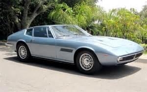 Maserati Ghibli For Sale Beautiful Celeste 1969 Maserati Ghibli 4 7 Bring A Trailer