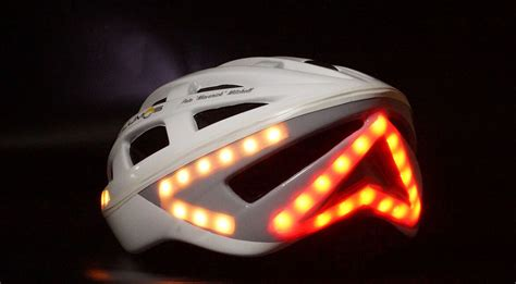 Bike Helmet Lights by Lumos Led Smart Bicycle Helmet Hiconsumption