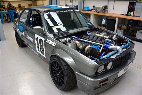 bmw e30 modified bmw e30 with a twin turbo m60 engine swap depot