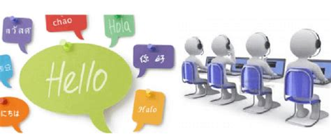 a pattern language which generates multi service centers multilingual call center