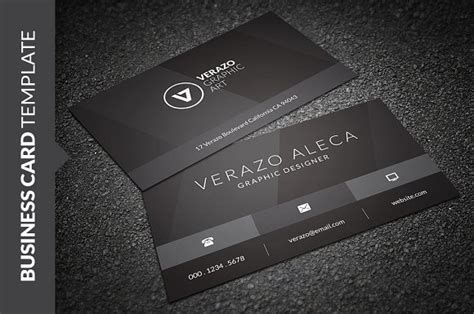black business card template stylish black business card business card templates on