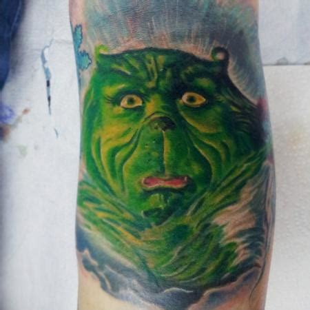 grinch tattoo designs travis broyles s designs tattoonow