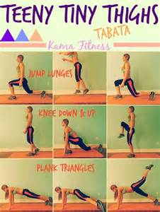 teeny tiny thighs 7btabata workout 7d daily workout