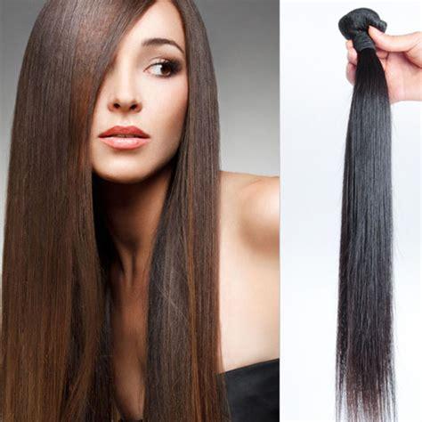 silky straight pubic hair 1 pcs 6a virgin malaysian hair weave silky straight weft 8