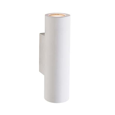 applique gesso applique in gesso cilindrico portalada attacco gu10 up