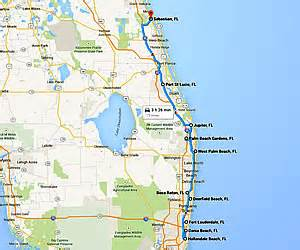Florida Map East Coast by Map Of Eastern Florida Clubmotorseattle