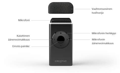 Creative Sound Blaster Iroar Mic creative iroar mic sound blaster creative labs suomi