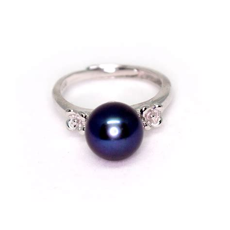 Pearl Ring by Black Pearl Ring