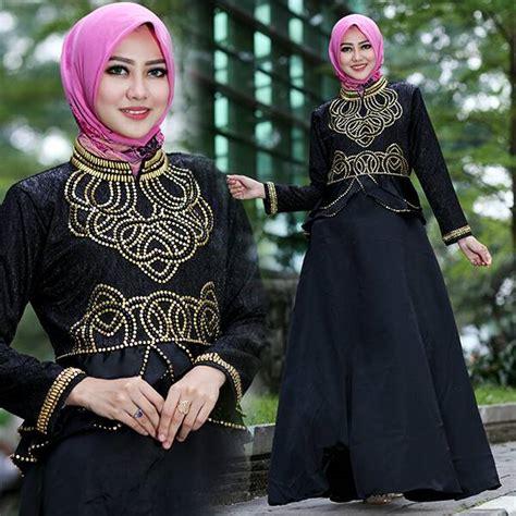 Maxi Talita Talita Gamis Talita Talita Dd baju pesta talita satin mix jaguard busana muslim modern