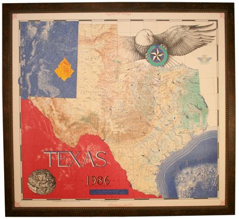framed texas maps buy texas physical map 1986 framed unique texas gifts and home office decor