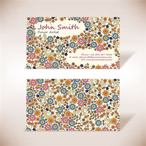 floral design business from home premium business card printing japan 350g heavyweight cards