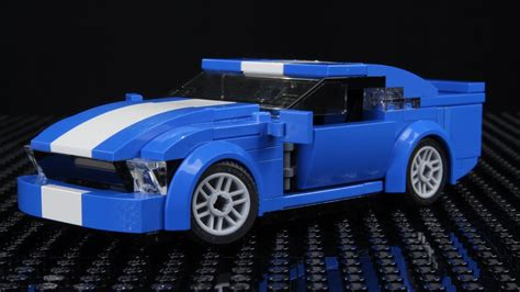 lego ford mustang lego ford mustang moc