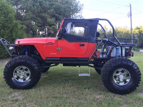 Highly Modified Jeep Wrangler Yj For Sale Photos