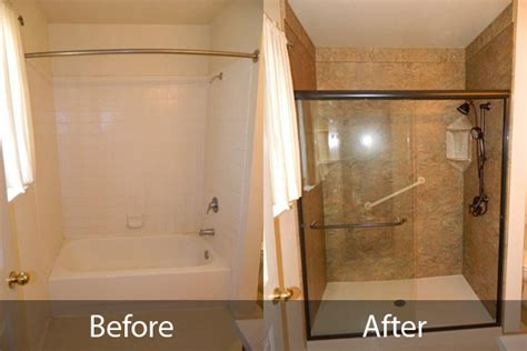 Before And After Shower by Bathroom Before After Gallery Reno Usa Bath In Reno
