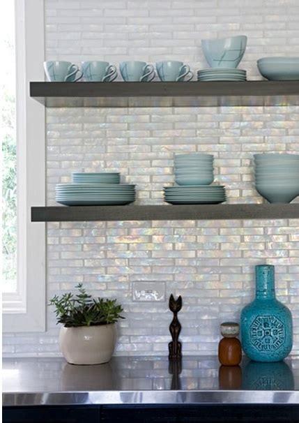 iridescent kitchen backsplash contemporary kitchen