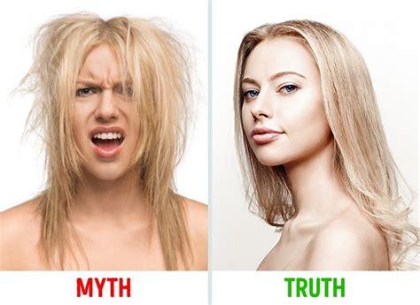 Hair Dryer Merusak Rambut 10 mitos vs fakta tentang rambut cewek jarang diketahui lho