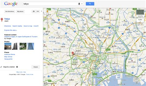 google tokyo google maps is different from country to country pics