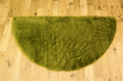 Green Fluffy Rug by New Soft Fluffy Plain Washable Soft Green Colour Faux
