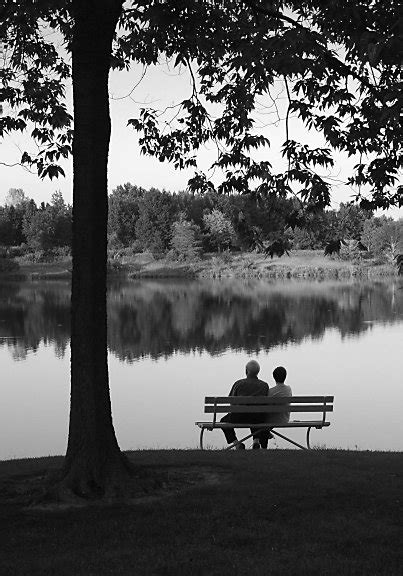 old couple on bench mikero com old couple on a bench