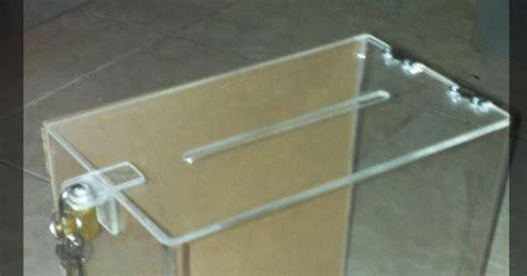 Acrylic Kotak akrilik kota tangerang kotak saran