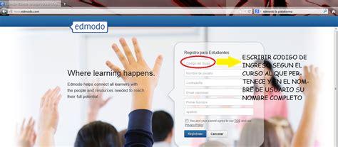 tutorial para registrarse en edmodo estudiantes de grados s 233 ptimo y octavo 2014 bienvenidos