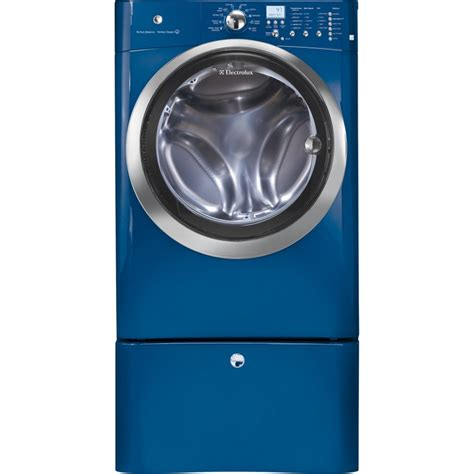 electrolux washer and dryer eifls55imb electrolux 4 0 cu ft front load steam washer iq touch mediterranean blue