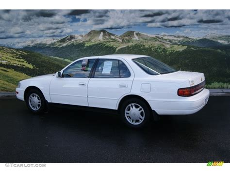 1994 Toyota Tire Size 1994 Toyota Camry White 200 Interior And Exterior Images