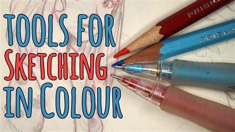 eno colors sketching in colour pilot color eno vs prismacolor col