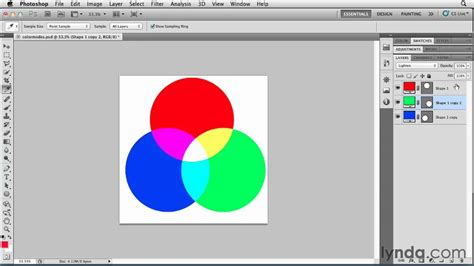 subtractive color photoshop the additive and subtractive color models