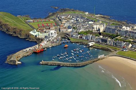 Address Finder Northern Ireland Portrush Harbour In Portrush Northern Ireland United Kingdom
