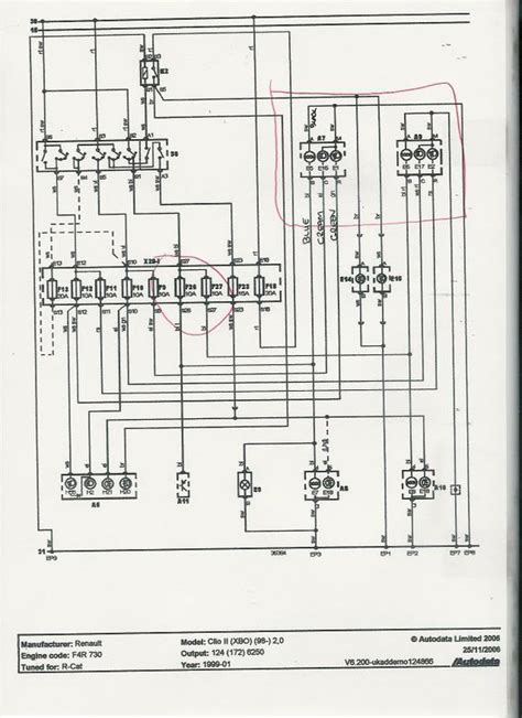 renault clio ignition wiring diagram renault wiring