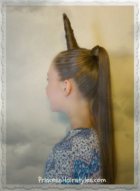how to do crazy hairstyles unicorn hairstyle for halloween or crazy hair day