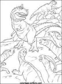 coloriage dinosaure walt disney