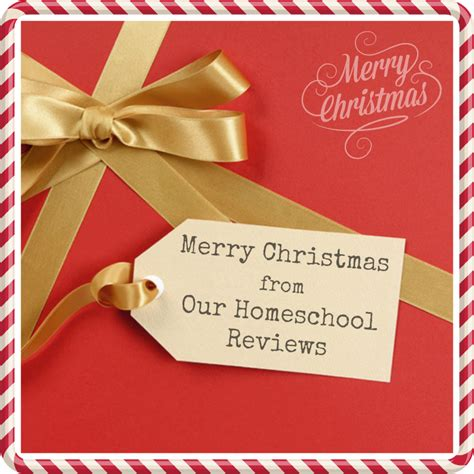 our homeschool reviews merry christmas