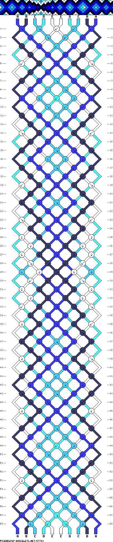 simple pattern pinterest easy pattern 10 friendship bracelets pinterest
