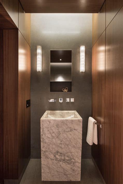 ct residence modern powder room new york by susan modern scientist residence modern powder room new